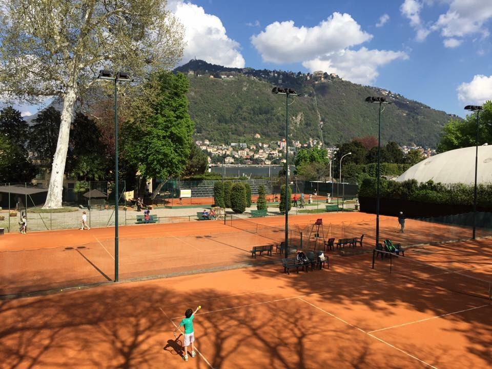 I campi del Tennis Como