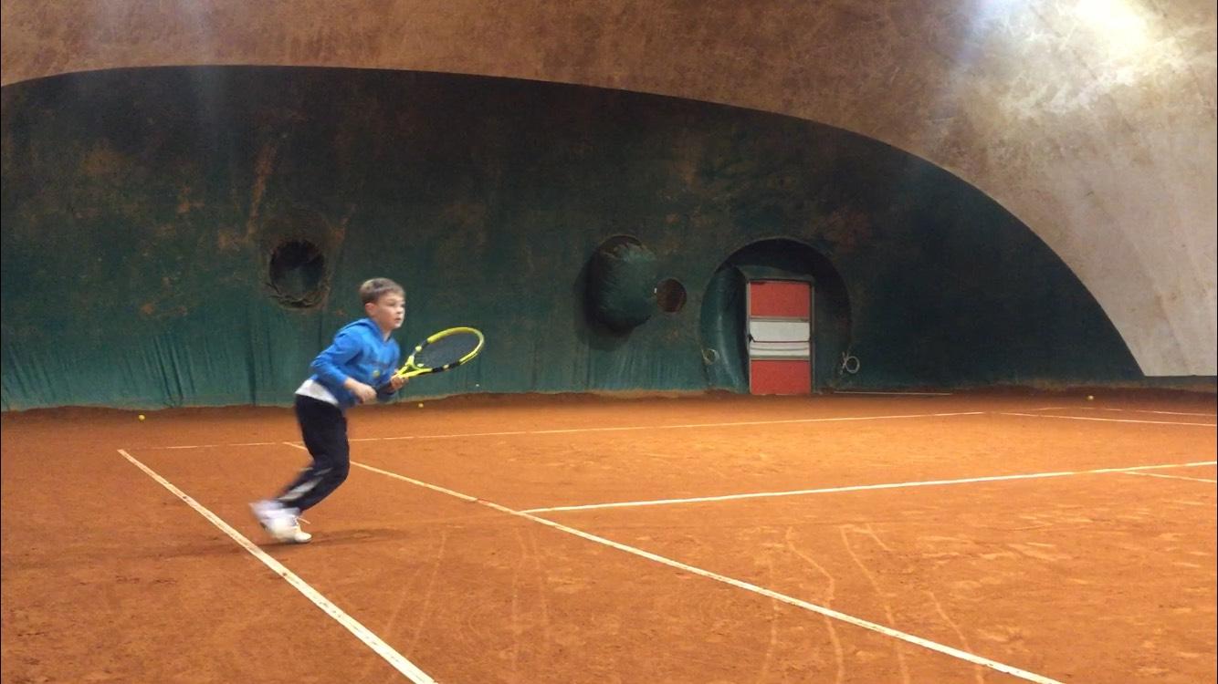 Tommaso Maglia in allenamento